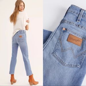 Free People Wrangler High-Rise Heritage Fit Jeans